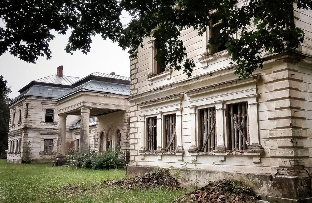21 руины5 Опса, палац Плятэраў