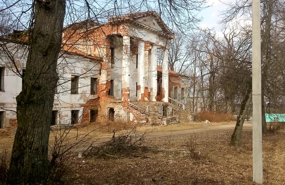 25 руины9 Раванічы, палац Слатвінскіх